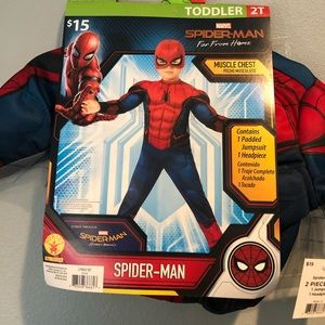 New Boys Spider-Man Costume